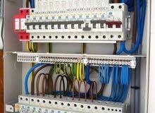 الاعمال و التمديدات كهربائية و تركيب كميرات(مهندس ليبي)