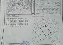 أرض للبيع في منطقة العوينات مربع 29 موقها جميل فالمخطط