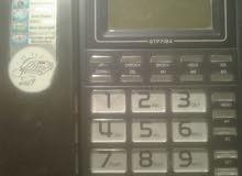 تليفون أرضى( بدووون عقد) مستعمل نظيف جدا