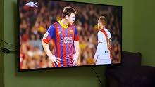 شاشة 55 سامسونج smart 4k