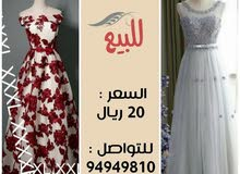 فستان 2 للبيع