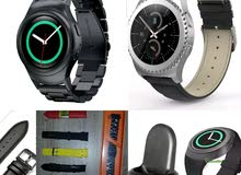 Samsung GEAR S2 STEEL, LEATHER and RUBBER BAND, WIRELESS CHARGER