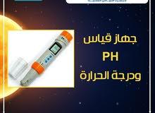 جهاز قياس درجة الحموضة PH ودرجة الحرارة من دالتكس ايجيبت لأجهزة القياس العلمية