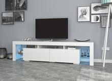 طاولة تلفاز اضاءة