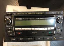 راديو اصلي من شركة Toyota