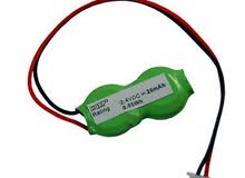 مطلوب بطارية ذاكرة للابتوب toshiba Potage (RTC Battery 2.4 volt)