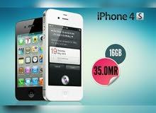 IPHONE 4S هواتف اصلية كمية محدودة ذاكرة 16 بسعر مغري