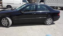 للبيع سياره مرسيدس  c180 موديل 2005