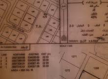 ارضين شبك الرستاق حي الباطن 3 وسط البيوت كورنر 12.500