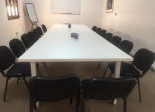 قاعات تدريب للايجار في بن عاشور (يومي- اسبوعي- شهري )