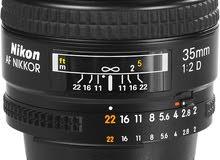 Nikon lens 35mm