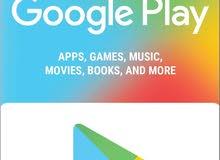 كروت قوقل بلاي باي قيمة google play gift card