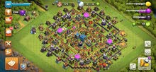 حساب لعبه clash of clans