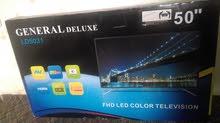 شاشة جينيرال ديلوكس Full HD  50 إنش فقط ب 215 دينار  جديدة بالكرتونة