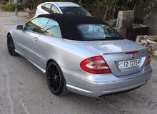 Silver Mercedes Benz CLK 200 2004 for sale