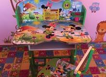 مكاتب أطفال فاخرة قابلة لتعديل الطول