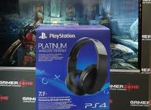 Playstation Platinum 7.1 Virtual Surround sound Wireless Headset