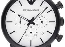 ساعة ارماني اصلية جديدة
