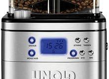 ماكينة قهوة وايضا توجد بها مطحنة UNOLD