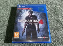 PS4 - PLAYSTATION 4 - UNCHARTED 4 - A THIEF'S END