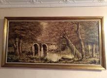 لوحه فنيه قديمه