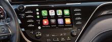 تحديث شاشة كامري 2019 وفوق لاستخدام CarPlay و Android auto