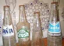 قنينات زجاجية