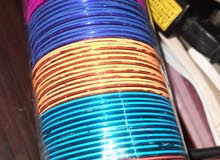 Set of 12 bangles only for 5 SAR