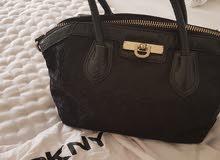 Black DKNY Tote Bag
