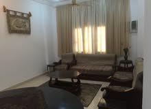 شقة ارضية مفروشة للايجار بمجمع النصر السكني