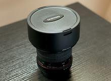 Canon lens Samyang 14mm f2.8 ultra wide for sale