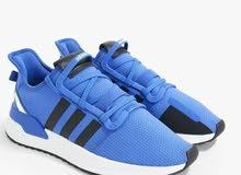 adidas Originals U-Path Run Lace-Up Sneakers Blue/White/ Black