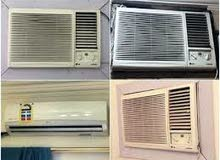 WANTED AIR CONDITION,SPLIT UINT AND WINDOWS SINGLE ARE BULK WORKING NON WORKING