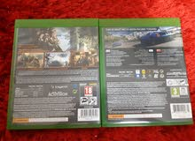 شريط ( Forza 6 ) و ( Call of Duty ) ل XBOX 1 للبيع