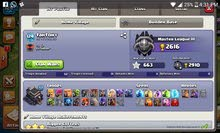 clash of clans th9 max - lvl 124