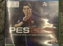 pes 18 for x box one