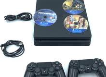 Playstation 4 1TB + 2 hand controls+  3 Games