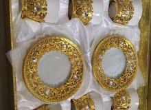فناجين ذهبيات بسعر التخفيض 65د