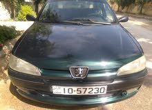 Manual Green Peugeot 1998 for sale