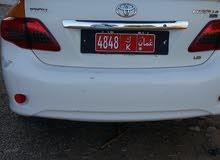 تويوتا كرولا خليجي مع رقم تاكسي 2008