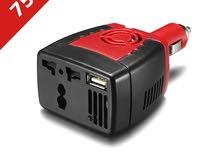 محول كهرباء للسياره من 12 إلى 220 فولت بقوة 150 واط
