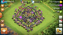 Clash of clans قرية 8 شبه ماكس