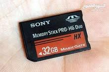 ا Sony 32g اصلي 100% يركب على اجهزة ألعاب السوني وكاميرات السوني.