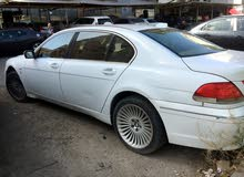 White BMW 7 Series 2004 for sale