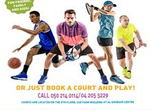LEARN TENNIS, BASKETBALL OR SQUASH