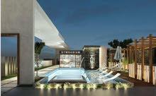 شقة 3 غرف سوبر لوكس بحديقة خاصة للبيع فى العاصمة الادارية