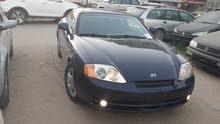 Hyundai Tuscani 2004 For sale - Blue color