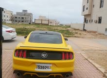 Yellow Ford Mustang 2015 for sale