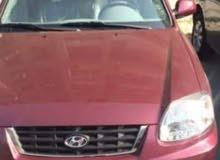 سياره هيونداي ڤيرنا للايجار