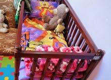 سرير اطفال لوح متين للبيع